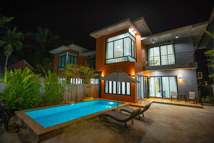 3Bedroom Aonangvilla4 private pool