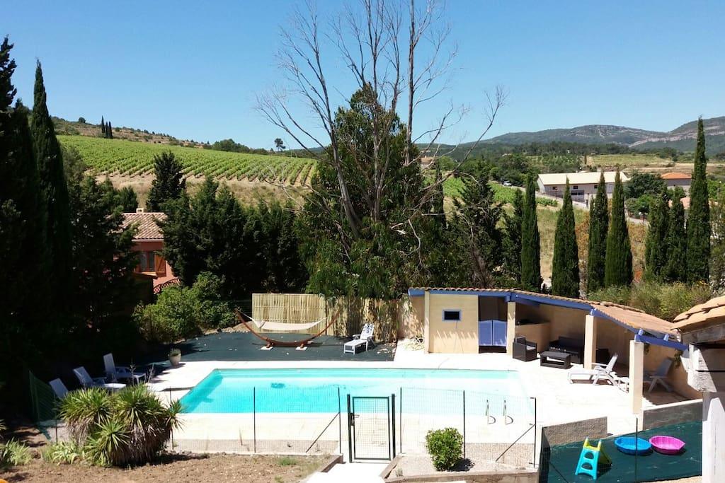 Grande Villa Avec Piscine Priv E Sud De France Maisons