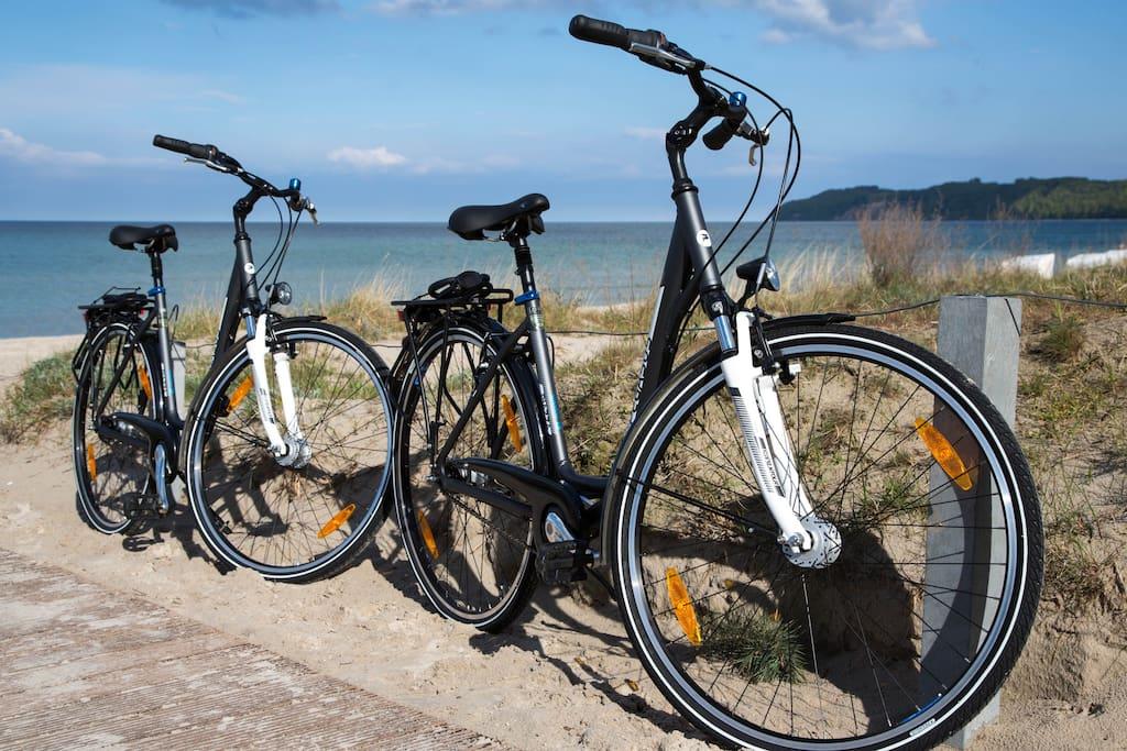 Fahrräder zur Benitzung