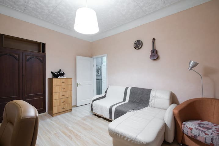 Historical apartment in a quiet district of Moscow - Moskva - Flat