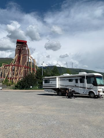 RV rental at Lagoon