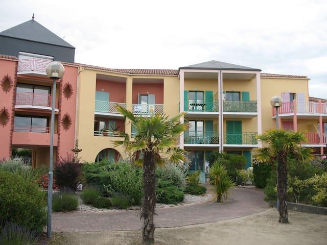 T2 de CHARME -2/4 pers à 600 m plage du Veillon - Talmont-Saint-Hilaire - Appartement