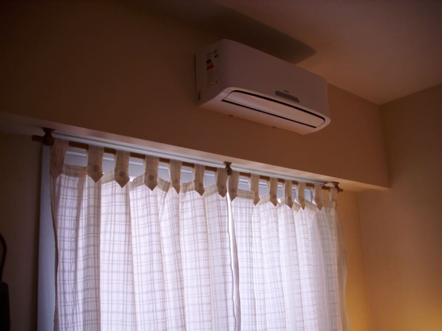 A/C in bedroom