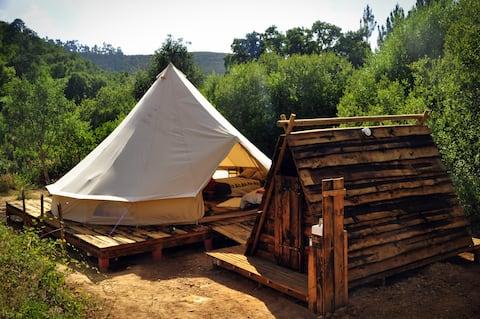 Quinta Alma - EcoRetreat Riverside Deluxe Shelter