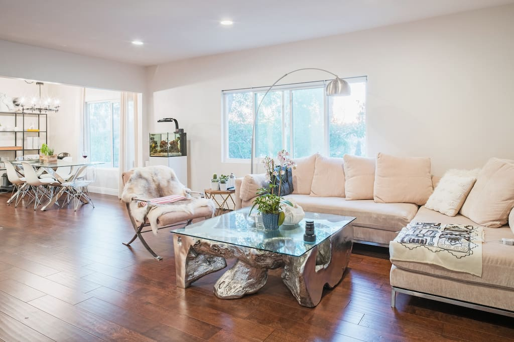 Recently revamped all furniture in common living space