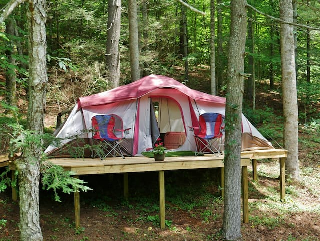 Tree-house Glamping Tent