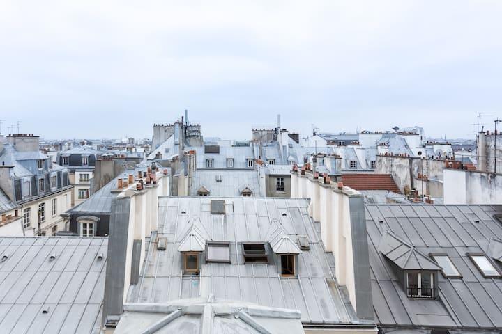 Quartier Montorgueille - Églises St.Eustaches.