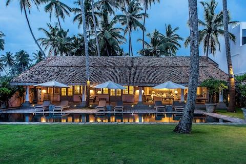 Samudra Beach Front Luxury Private Pool Villa