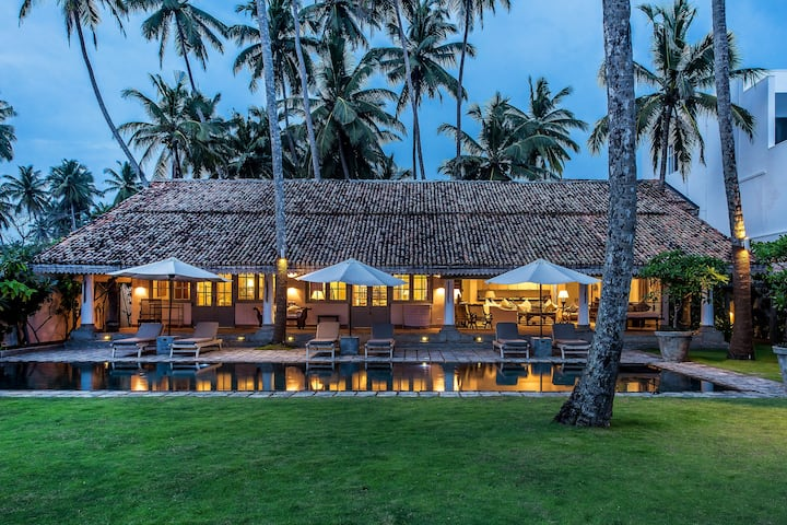 Samudra Beach Front Luxury Private Pool Villa