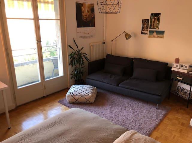 Chambre privée à Lausanne / NO WIFI !