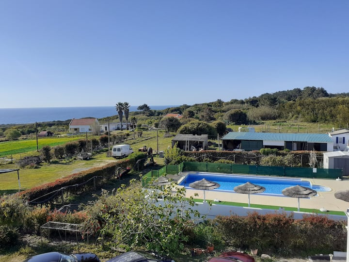 Amazing flat with terrace and sea View Carvalhal