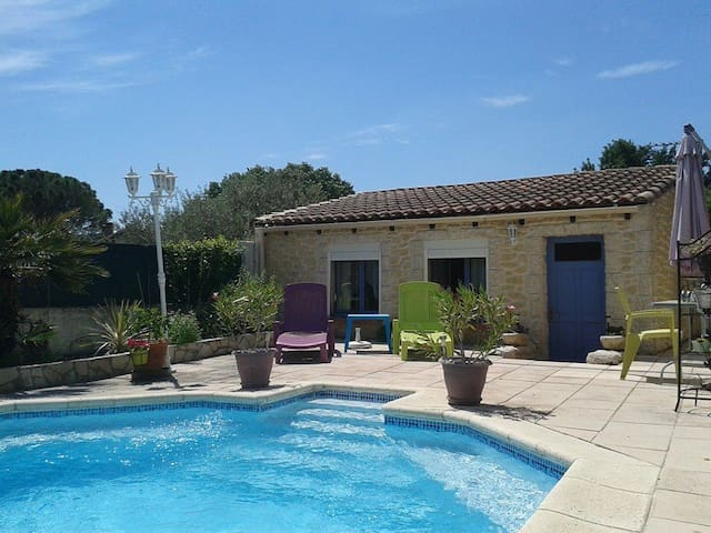 AT THE EDGE OF THE SWIMMING POOL - La Bouilladisse - Apartamento
