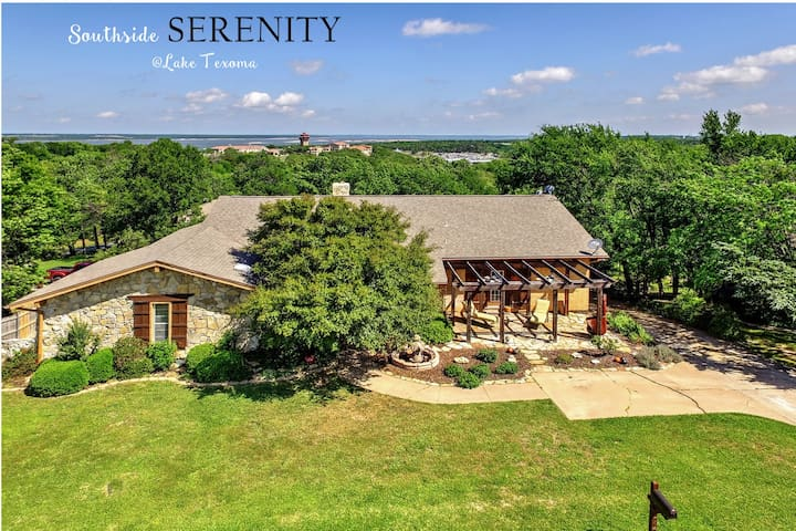 Southside Serenity at Lake Texoma - Tanglewood