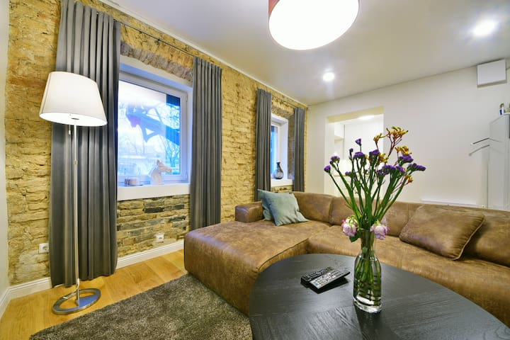 New 2 bdr Old Town President Palace w free parking - Вильнюс - Квартира