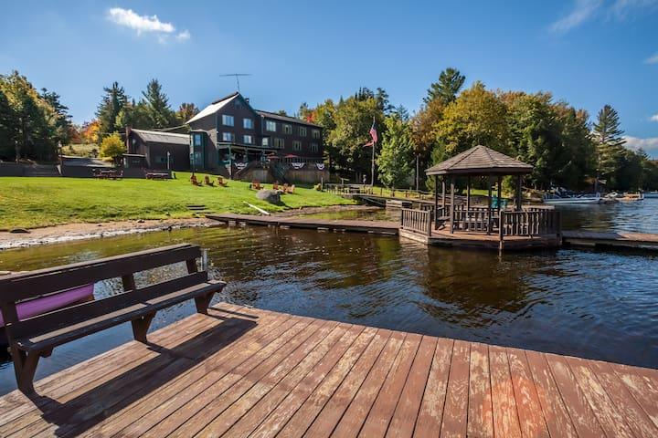 Turn of the Century Adirondack Lodge