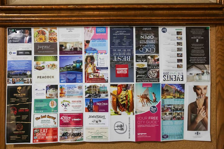 All information about what coconut grove offers