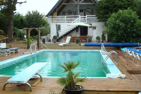 Villa with heated pool near beach - Fouesnant - Villa