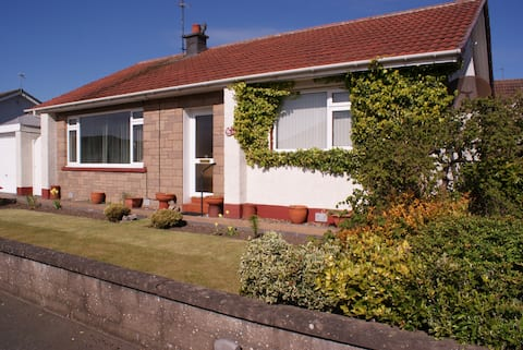 Garden Cottage Bungalow Central Arbroath