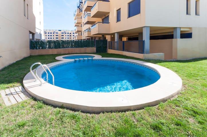 ULTRAVIOLET - Apartment for 5 people in Playa de Bellreguard. - Playa de Bellreguard - Apartemen