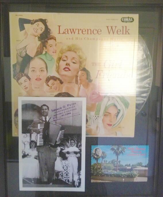 Lawrence Welk Memorabilia.