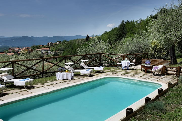 Attractive Holiday Home in Magliano with Private Swimming Pool
