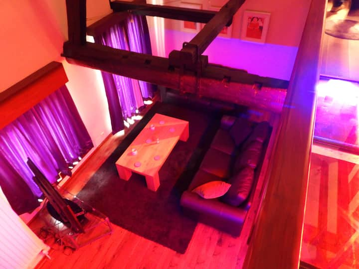 Loft in Red Light District Antwerpen