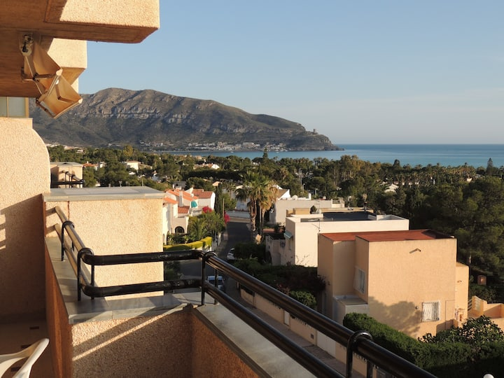 Stunning views apartment in Azohia