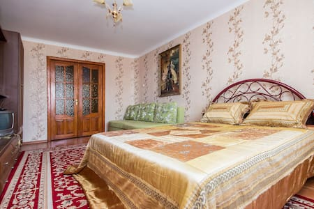 Уютная однокомнатная квартира - Lägenhet
