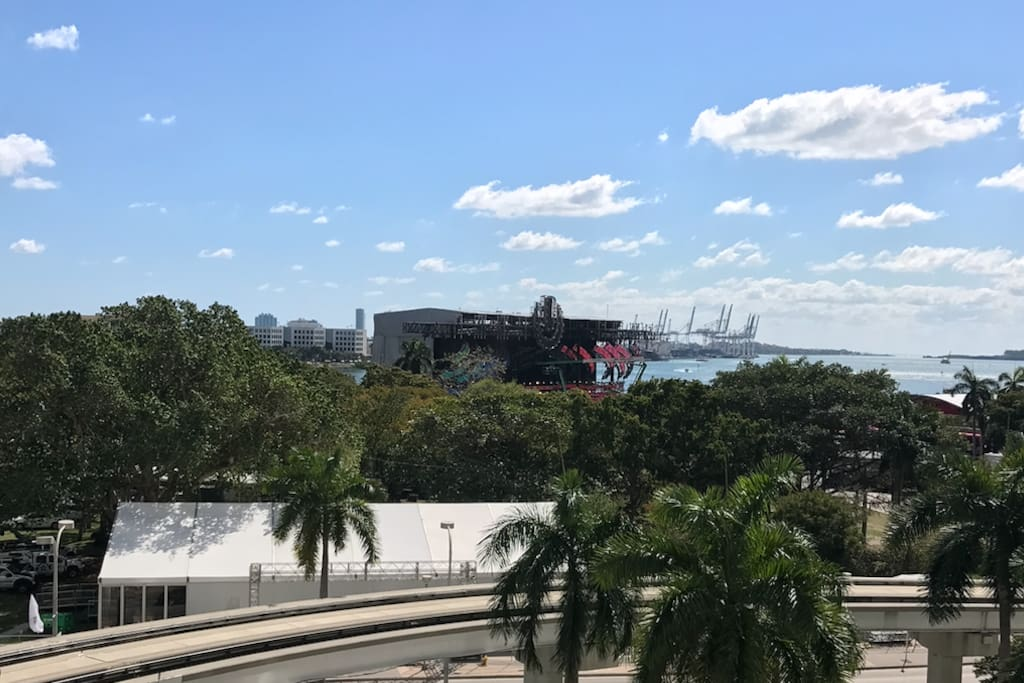 Ultra mainstage from Balcony