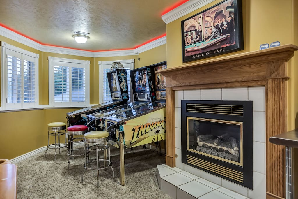 Have a seat and play for hours ... all of our machines are meticulously maintained and free to play.