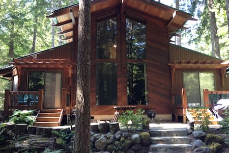 Zigzag Lodge on Mt Hood w/Hot tub, Sleeps up to 8 - Rhododendron - Haus