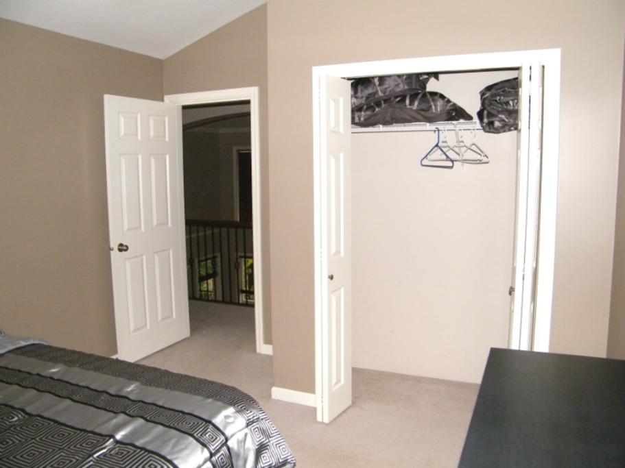 View of closet