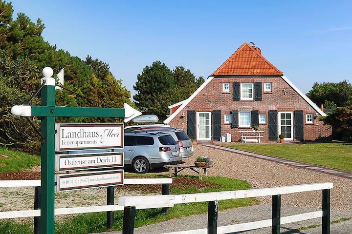 Landhaus Meer -Apartment Deichblick - Neuharlingersiel - Apartament