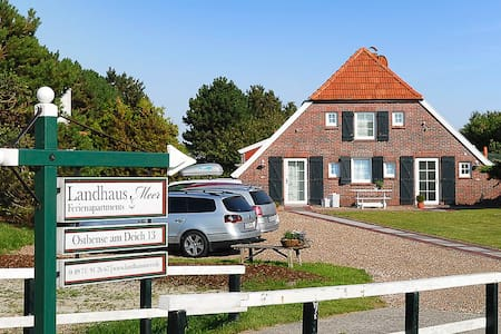 Landhaus Meer -Apartment Deichblick - Neuharlingersiel - Apartment