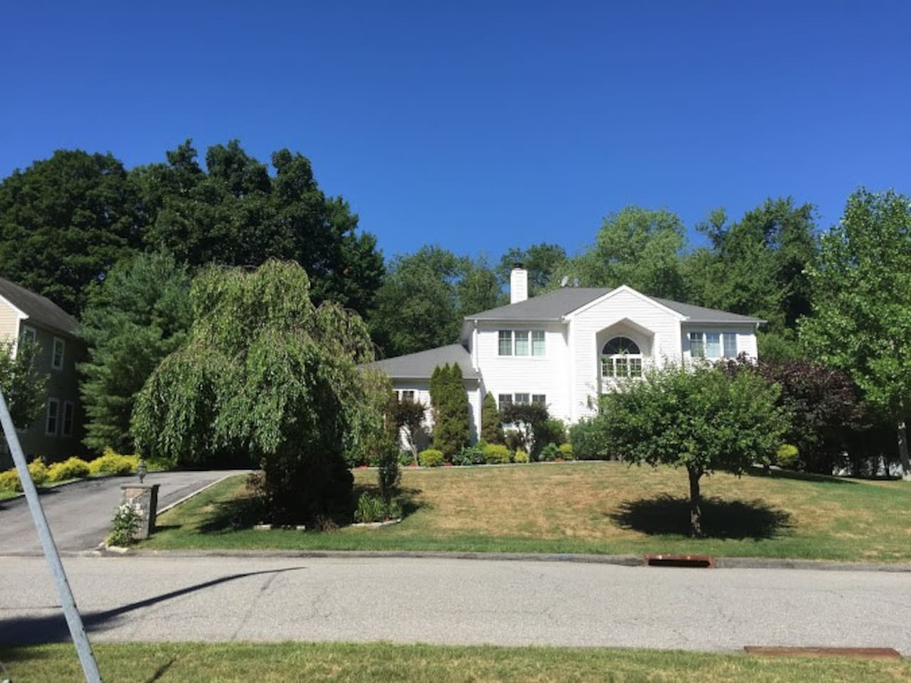 Bright, Clean and Spacious Modern Colonial on private Culder Sac has three separate private bedrooms with bathroom to offer.
