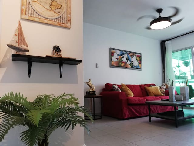 Great Apart, 3 Brs A/C, 2 Baths, Near US Embassy