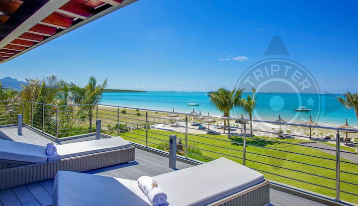 TWO Paho 4BR Beachfront Penthouses (16 people)