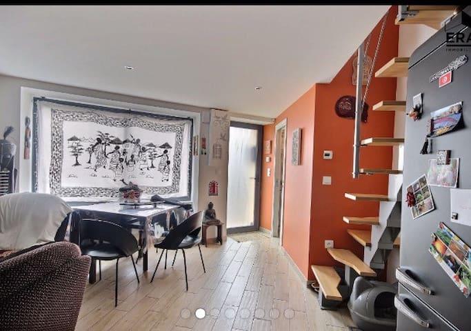 Maison de charme quartier Chantenay - Nantes - Casa