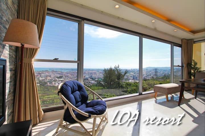 LOA Resort! 97㎡ You can enjoy a beautiful view  !