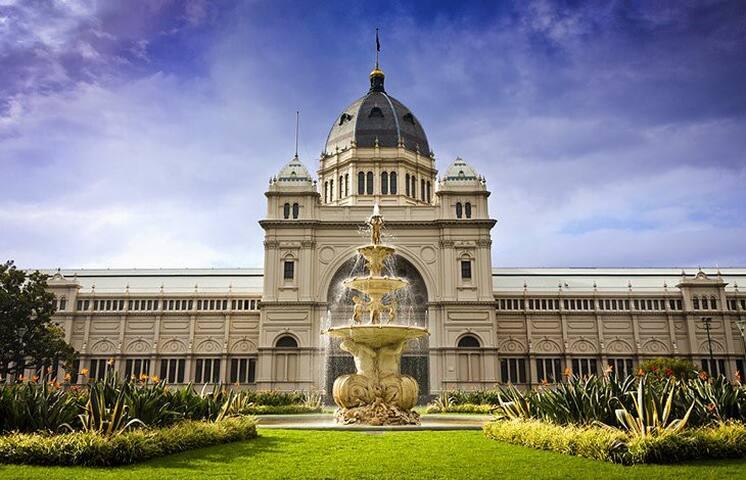 Royal Exhibition Building - 15 minutes walking