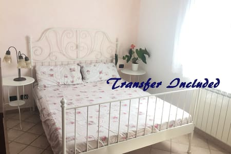 Cozy room with airport transfer included - Ciampino - Hus