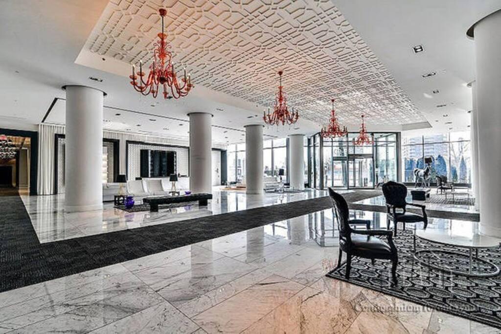 Award winning lobby design.