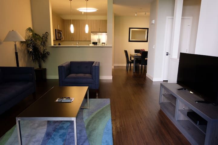 Fully Furnished 2 Bedroom Apartment in San Mateo