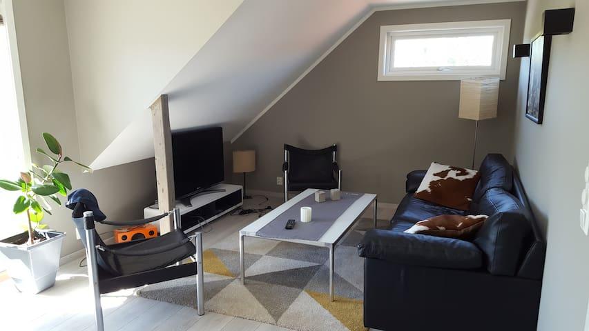 New apartment near Østfold University College -HIØ