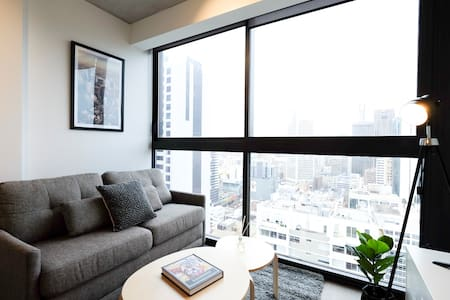 Stunning 1BR Apt with City View + Free WiFi - Melbourne - Apartment