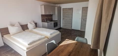 現代公寓雙人或雙人客房3號