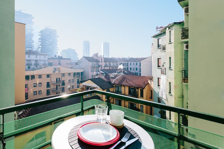 Serendepity in Milan's new coolest district - Milano - House
