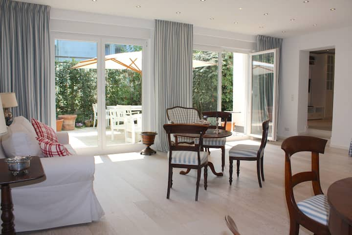 Loftartiges Appartement (100qm) mit Sonnenterrasse