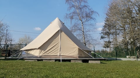 Glamping in green and quiet area