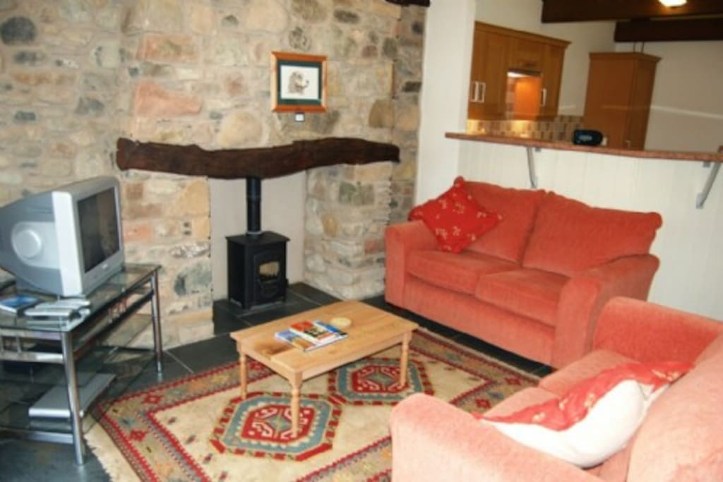 Buttermere, Southwaite Green, Lounge, Lakes Cottage Holidays